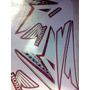 Jogo Adesivo Moto Titan 150 Ex/esd Verm 2015 Preta Completo