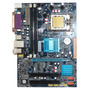Placa Mae G31 Intel Lga Socket 775 Ddr2 Som Video Rede + Nf