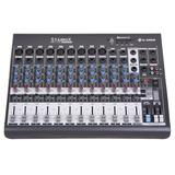 Mesa De Som 12 Canais Usb Bluetooth Xms1202d Balanceado