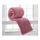 Cobertor Corttex Home Design Casal Rosa-antigo Lisa