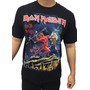 Camiseta Consulado Do Rock E1374 Iron Maiden Camisa Banda Original