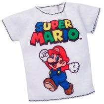 Roupinhas E Acessórios - Barbie - Super Mário Camiseta - Mat