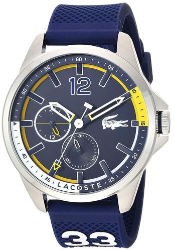 f15a5fe6ff3 Relógio Lacoste Masculino Capbreton Náutica Silicone 2010897. R  849.99