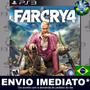 Ps3 Far Cry 4 Código Psn Dublado Em Português Envio Agora