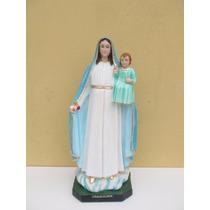 Escultura Nossa Senhora Gloria Linda Imagem 65cm Fabrica