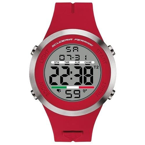 ccf64fcaac7 Relógio Scuderia Ferrari Masculino Borracha - 830370