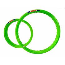 Aro Moto Aluminio Colorido Cg Titan 150 Todas Verde Neon Top