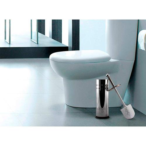 Kit Banheiro 3 Peças Lixeira Inox 2 Peças : Comprar kit banheiro pe?as lixeira de e l escova