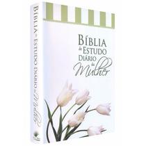Bíblia De Estudo Diário Da Mulher Sem Concordância - Tulipa