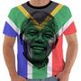 Camiseta Ou Baby Look Bandeira África Do Sul Nelson Mandela