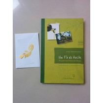 Livro E Marca-páginas Folheado A Ouro