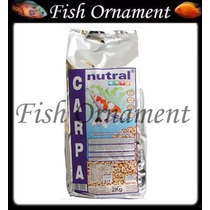 Ração Nutral Carpas 2kg Fish Ornament