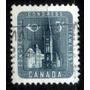 Canada 1957 * Prédio Parlamento Otawa * Frete Grátis