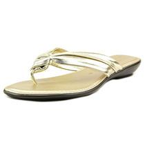 Italian Shoe Makers Remi Mulheres Couro Thong Sandal