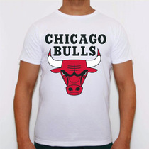 Camisa Swag Basquete Celtics Chicago Bulls Raiders Nba Plt