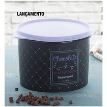 Tupperware - Tupper Caixa Bistrô Chocolate 1,3 Kg