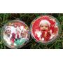 Bolas De Natal Personalizadas - Kit Com 5