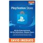 Playstation Network Card Cartão Psn $60 Dólares Usa $50+$10