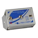 Amplificador De Linha 30db Antena Sinal Digital Uhf Tv Cabo