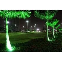 Refletor De Led 20w Verde - Bivolt - A Prova D