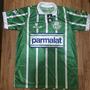 Camisa Palmeiras Listrada - Parmalat - Comemorativa - Retrô