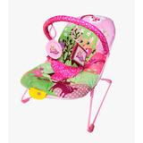 Cadeira Cadeirinha De Descanso Musical Vibratória - Rosa