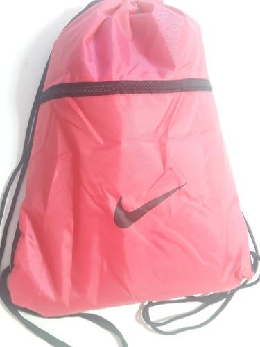 Mochila De Academia Rosa Sacola Gym Bag Esporte Escolar. R  18.9 d74158245d55d