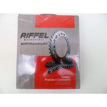 Kit Relação Cg Fan 125 2014 2015 2016 -riffel
