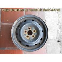 1 Roda De Ferro Aro 14 5 Furos Do Neon Pt Cruizer Stratus 3