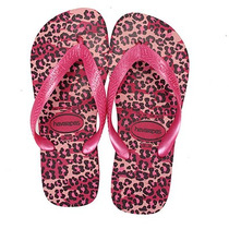 Chinelo Feminino Havaianas Top Animals - Rosa