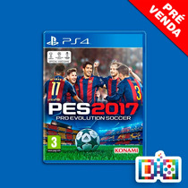 Pro Evolution Soccer 2017 Ps4 Mídia Física Lacrado Pre Venda