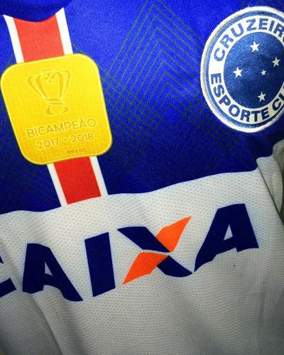 20cadaa53d Camisa Cruzeiro Cinza Nova 2018 2019 Bi Campeão Copa Brasil. Preço  R  29 9  Veja MercadoLibre