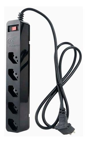 Filtro De Linha 5 Tomadas Clamper Dps Energia 5 Nota Fiscal