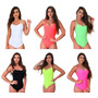 Body Neon Com Bojo Moda Verão Carnaval 2019. Ref: 743