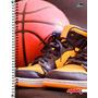 Caderno 1 Matéria 96 Folhas Linha Mais+ Tênis 2016