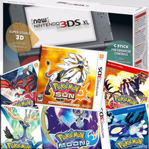 New 3dsxl 19 Jogos Originais Pokemon Sun Moon X Y Oras Mario