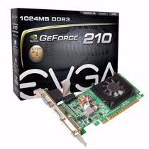 Placa De Vídeo Geforce Gt210 Para Pc 1gb Ddr3 Pci-e Nvidia