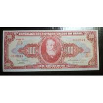 Cédula Brasileira De 100 Cruzeiros