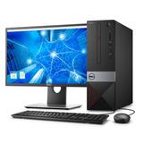 Desktop Dell Vostro Vst-3470-a20m I5 4gb 1tb W10pro +monitor