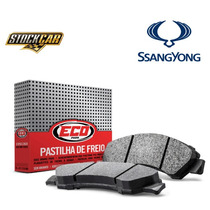 Pastilha Freio Ecopads Diant Ssangyong Rexton Eco1477 Rs1