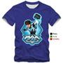 Camisetas Maxsteel Infantis De Criança Camisa 100% Algodão