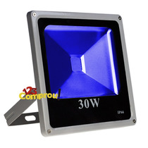 Refletor Holofote Led 30w Azul À Prova D