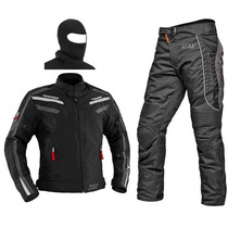 Conjunto Motoqueiro Jaqueta Iron E Calça Troy X11