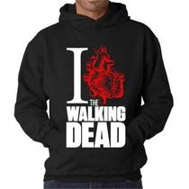 Blusa The Walking Dead Moletom Canguru- Promoção Limitada!