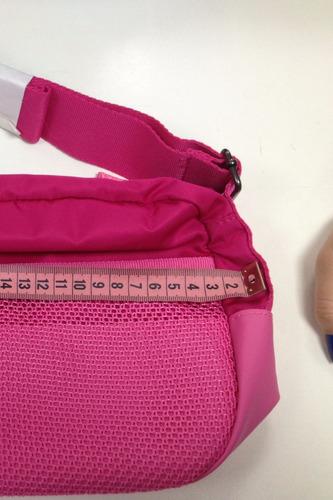 Bolsa Adidas Feminina Organiz G68597 - Cor: Fúcsia - Branco