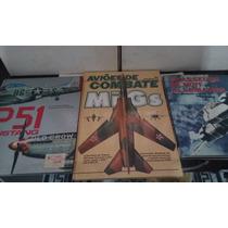 Aviões De Guerra - Lote Com 04 Livros + Submarinos