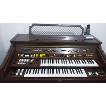 Orgão Yamaha Electone 405-i - U.s.a Relíquia Com Banqueta