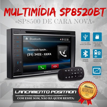 Dvd Player Positron Sp8500 Bt Bluet Tela 6.2 Usb Sd 2 Din