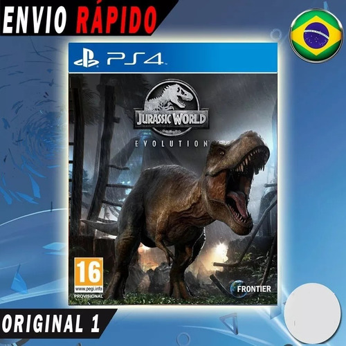 0d65aa7b1 Jurassic World Evolution Ps4 Psn Mídia Digital Original 1