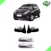 Kit Apliques Cromados Ford Ka + Corsa + Celta + Brinde